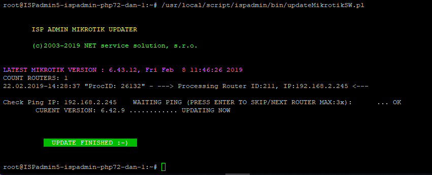 Update MikroTik RouterOS – ISPadmin wiki