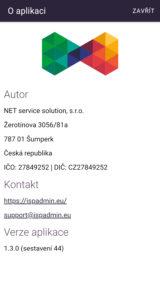 Základní informace o aplikaci