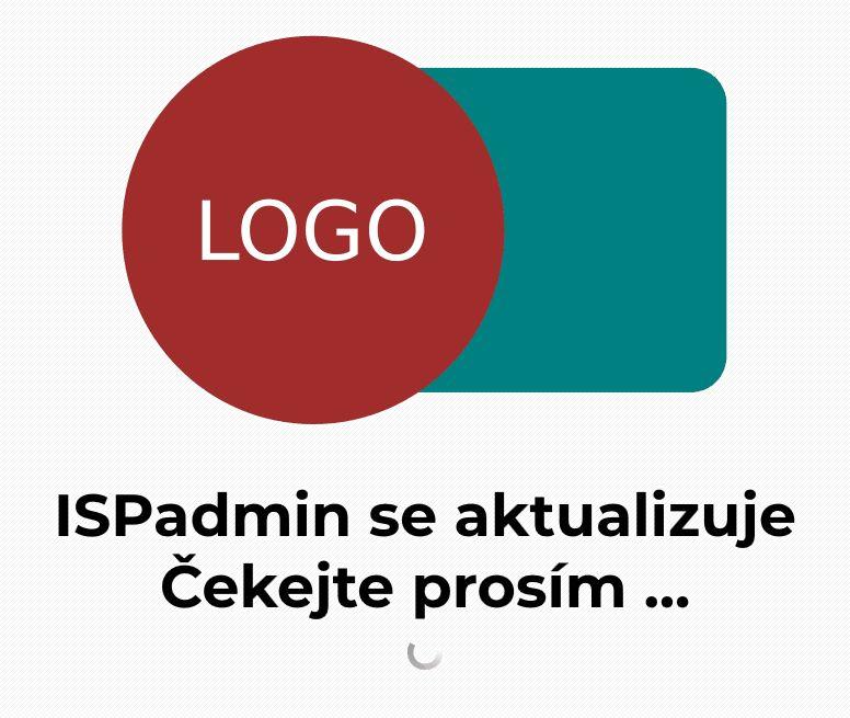 Vlastní logo (právě probíhající aktualizace)